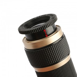 High magnification, ultra-clear, low-light night vision outdoor monocular telescope