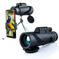 Low-light night vision high-definition high-power mobile telescope
