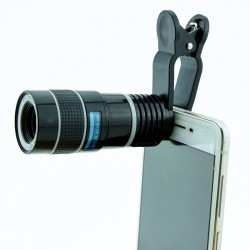8×18 high magnification high-definition mobile phone camera external universal